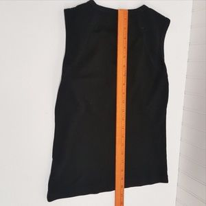 H&M Tops - H&M V-Neck Sleeveless Black TANK (P05-12)